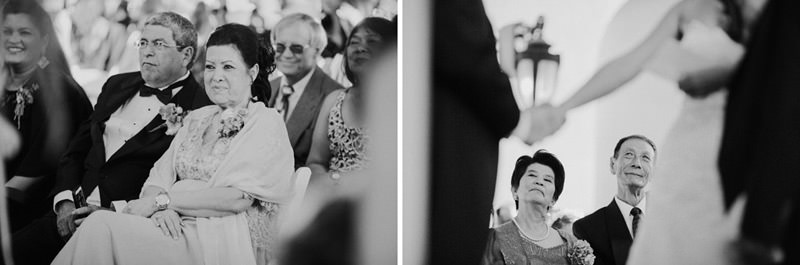 south american and chinese fusion wedding