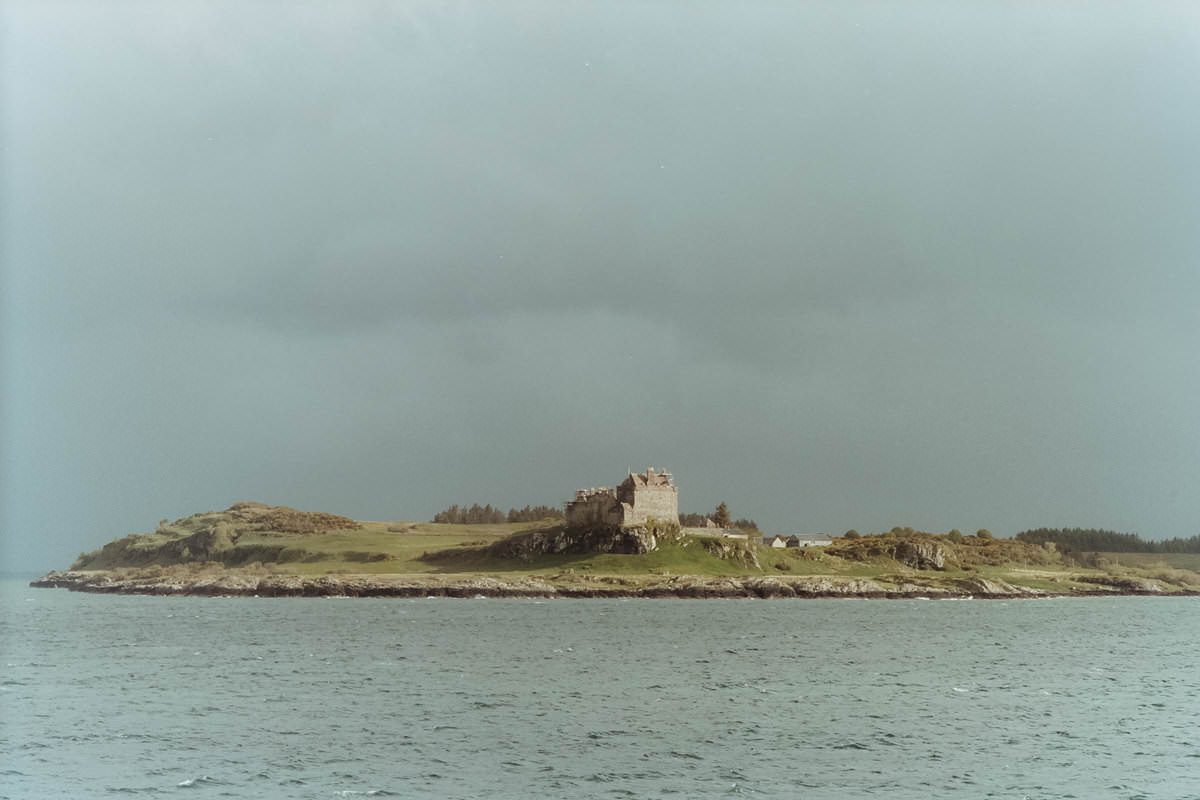 Isle of Mull scotland photographing on contax g2 film camera and kodak portra 160