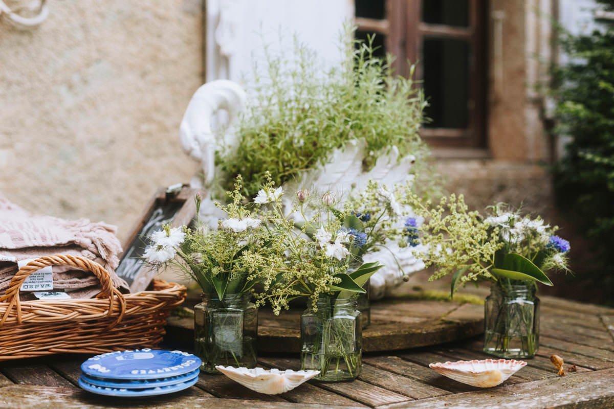 french rustic wedding inspiration