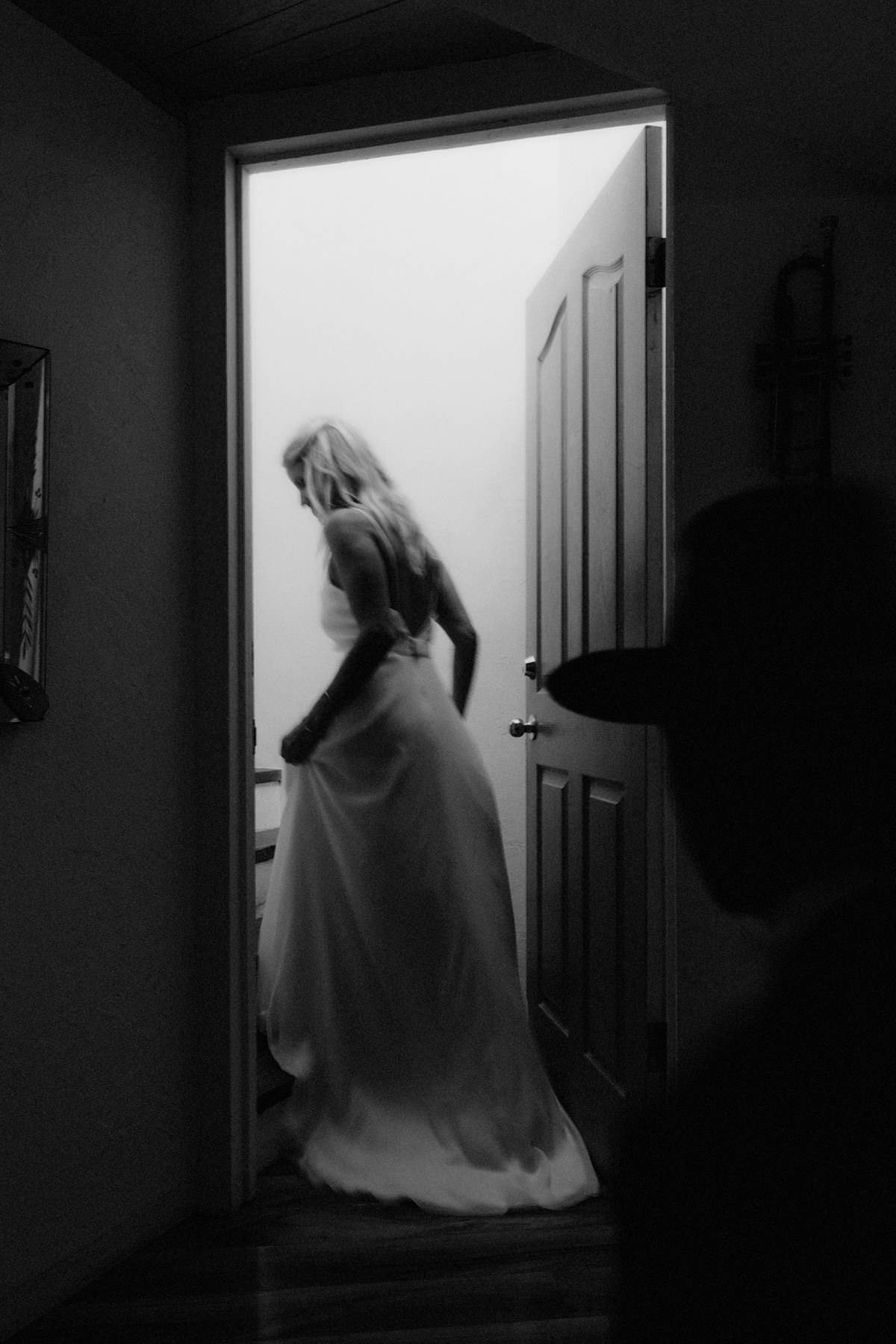 unique and haunting bridal portraits