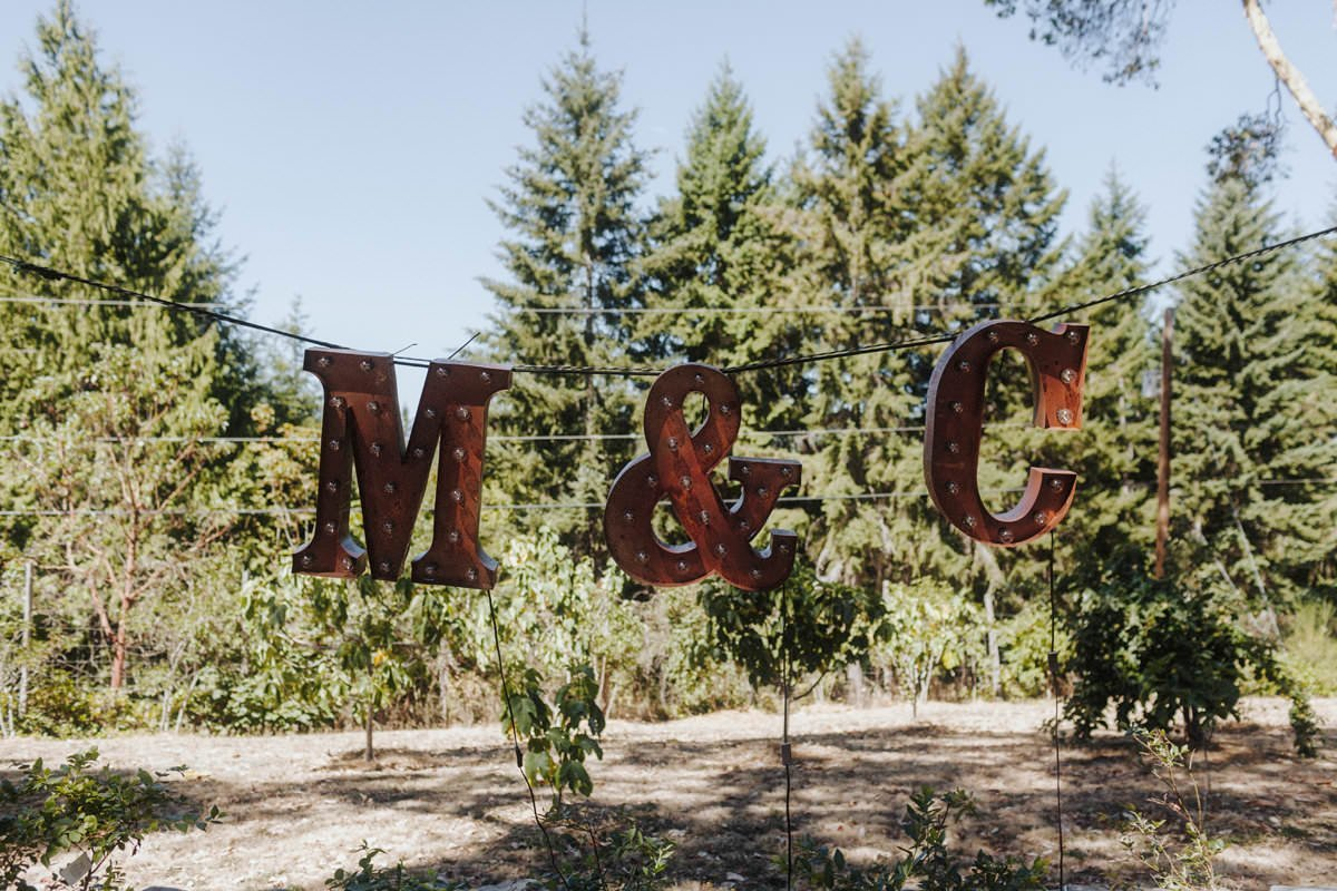 rustic barn wedding saltspring