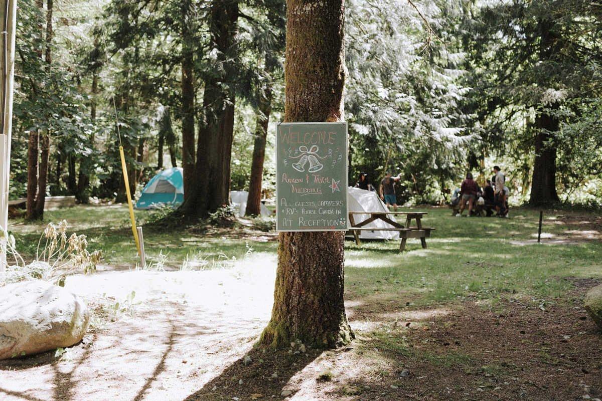 squamish campground wedding