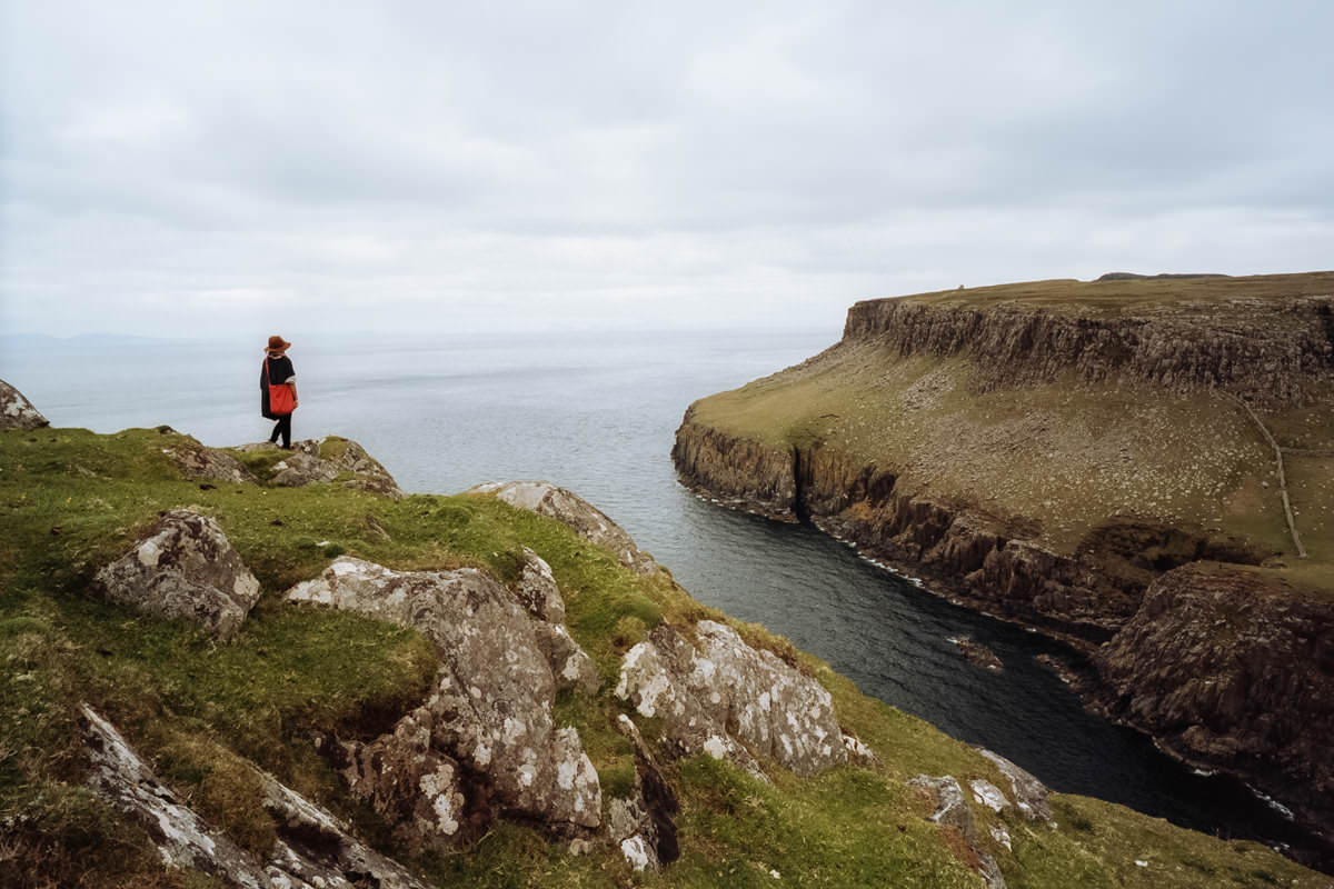 Neist Point Lighthouse, Contax G2, Analog Film Ireland, Kodak Portra 160