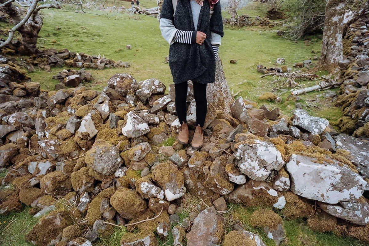 Ferry Glen Isle of Skye scotland photographing on contax g2 film camera and kodak portra 160