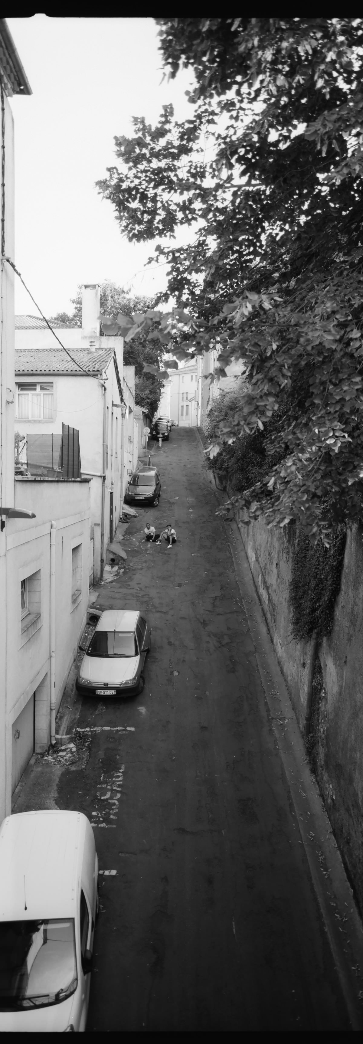 Southern France Streets france street photography on hasselbald xpan 45mm on kodak trix 400