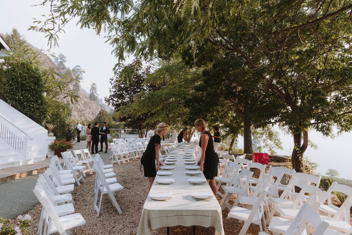 Outdoor Wedding Venues: God's Mountain Estate Wedding / Penticton BC