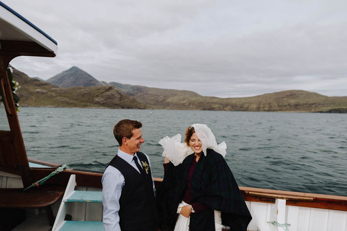 elgol elopement photography