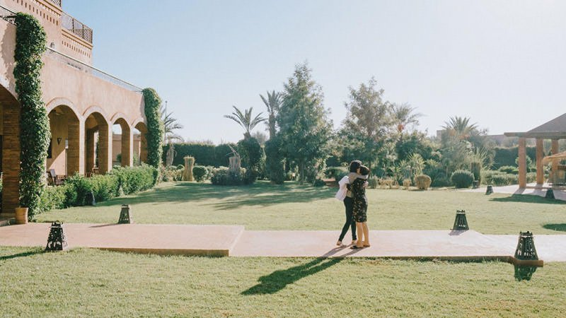 intimate marrakech wedding