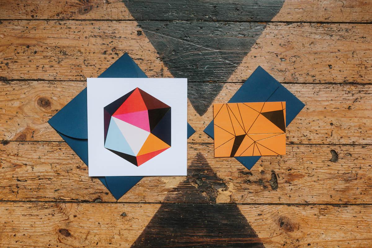 geometric french wedding inspiration