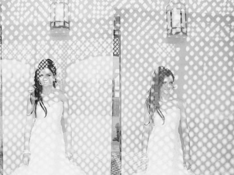 double exposure wedding morocco