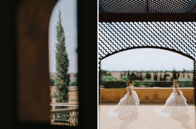 creative morocco wedding photos