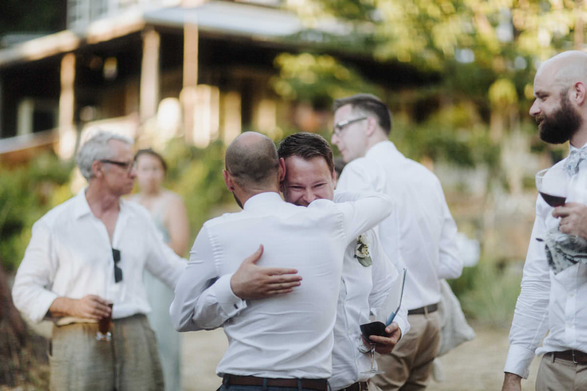candids bowen island wedding photographer