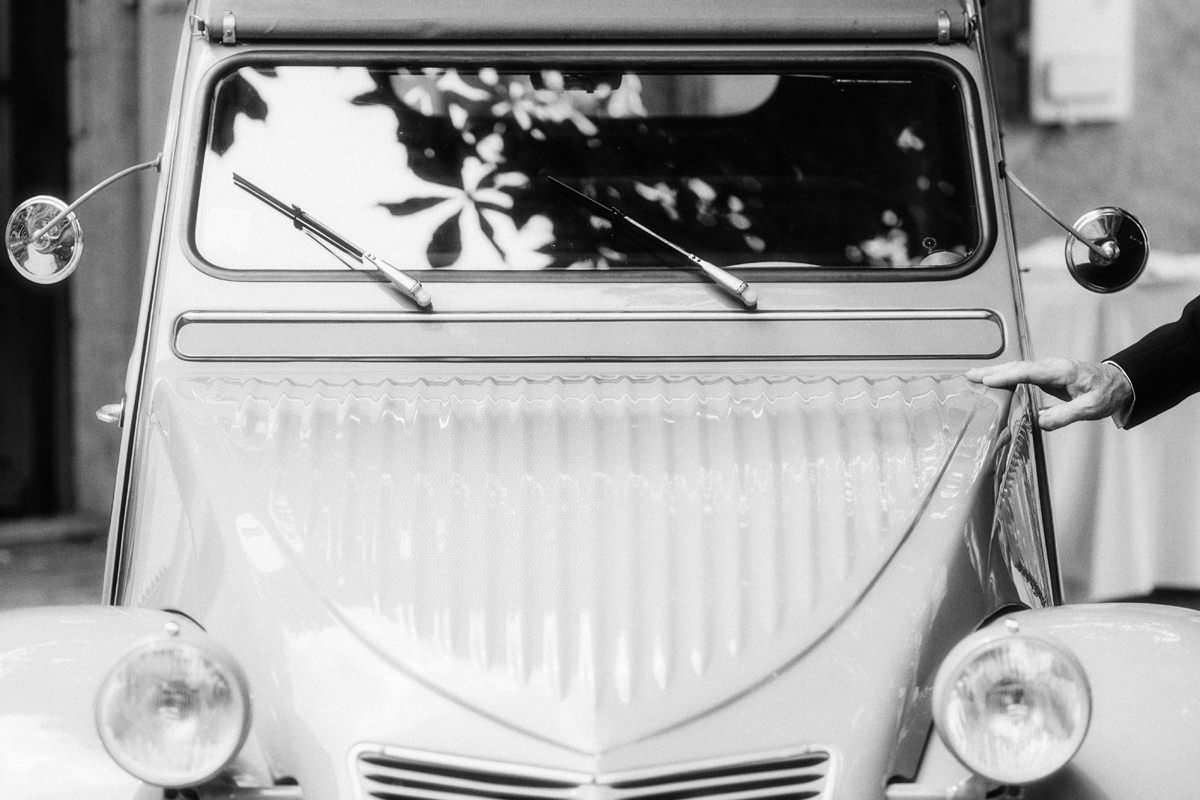 citroen 2cv montpellier wedding
