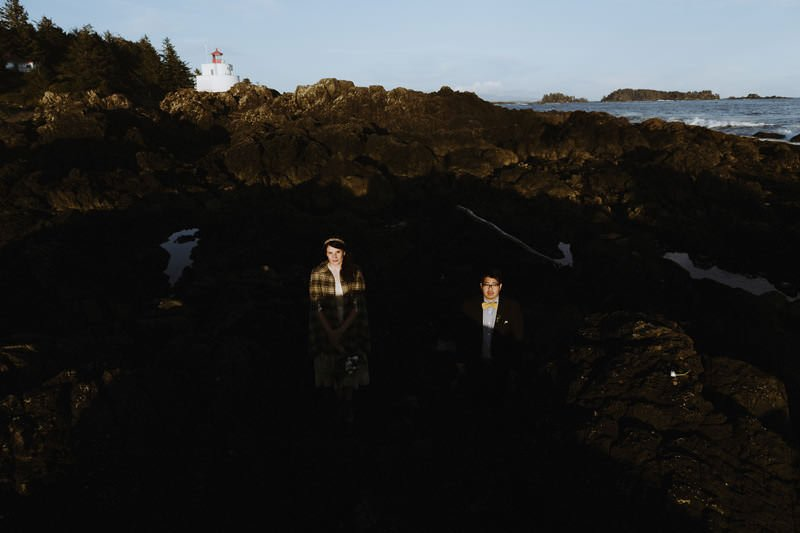 amphitrite lighthouse ucluelet wedding