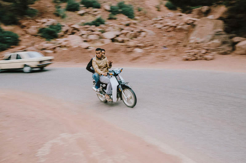 getting around morocco
