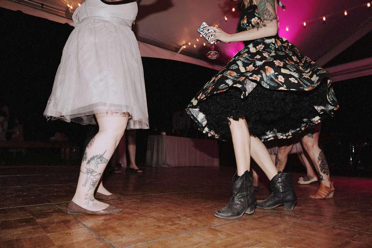 rockabilly wedding vancouver