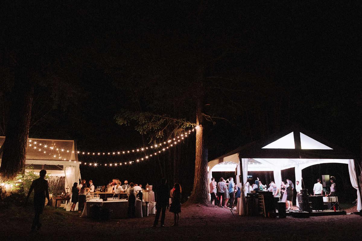 sunwolf squamish campground wedding