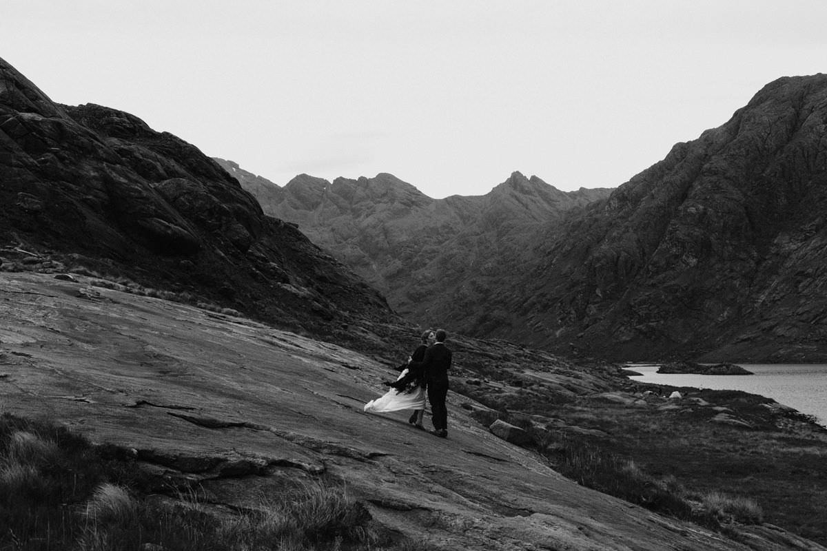 Adventurous Elopement at Loch Coruisk
