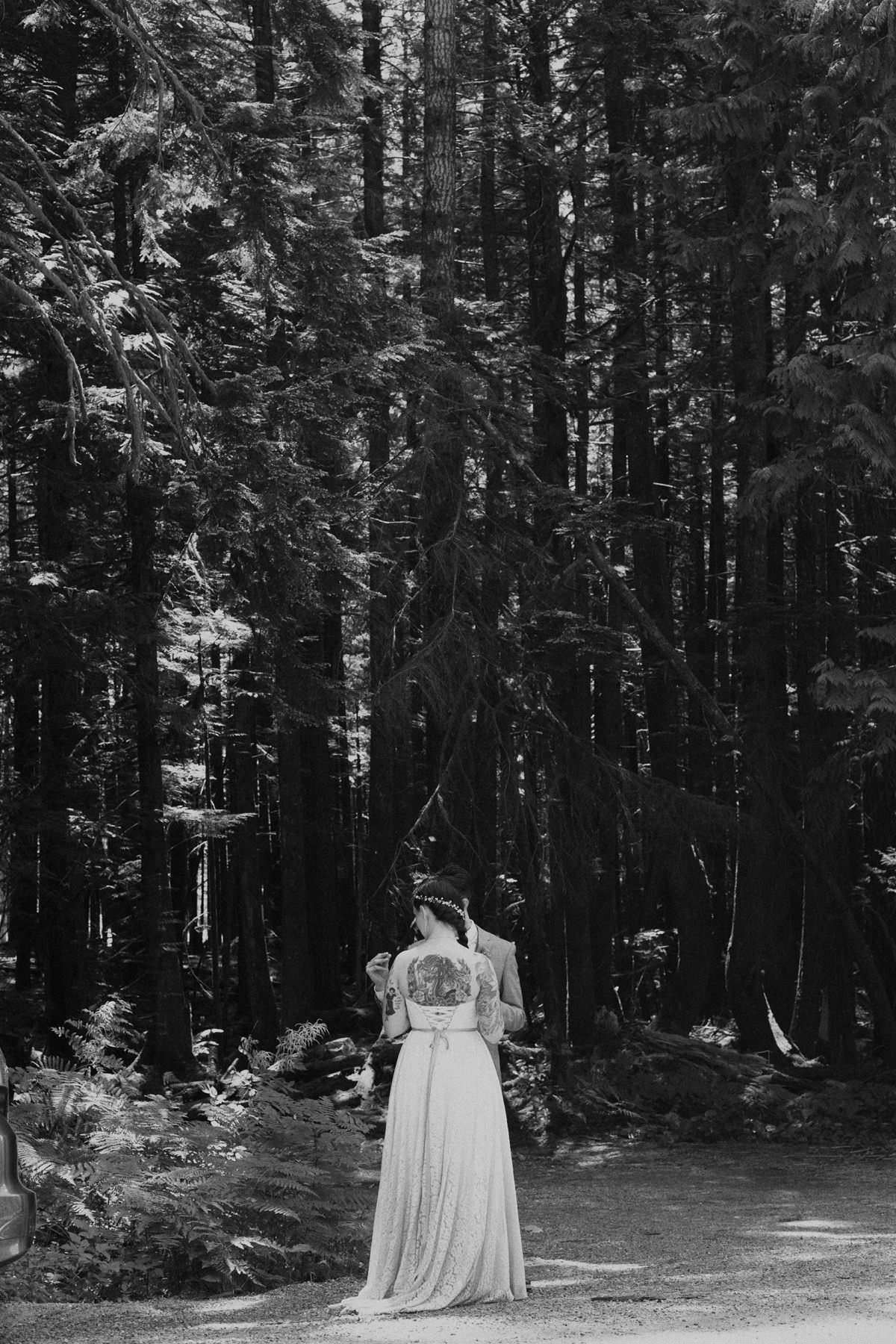 forest elopement squamish