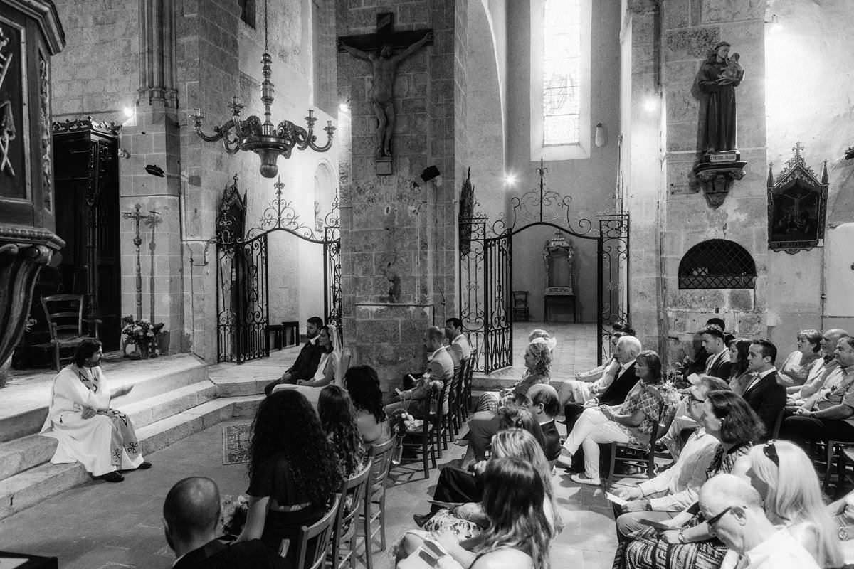 pessan church wedding france