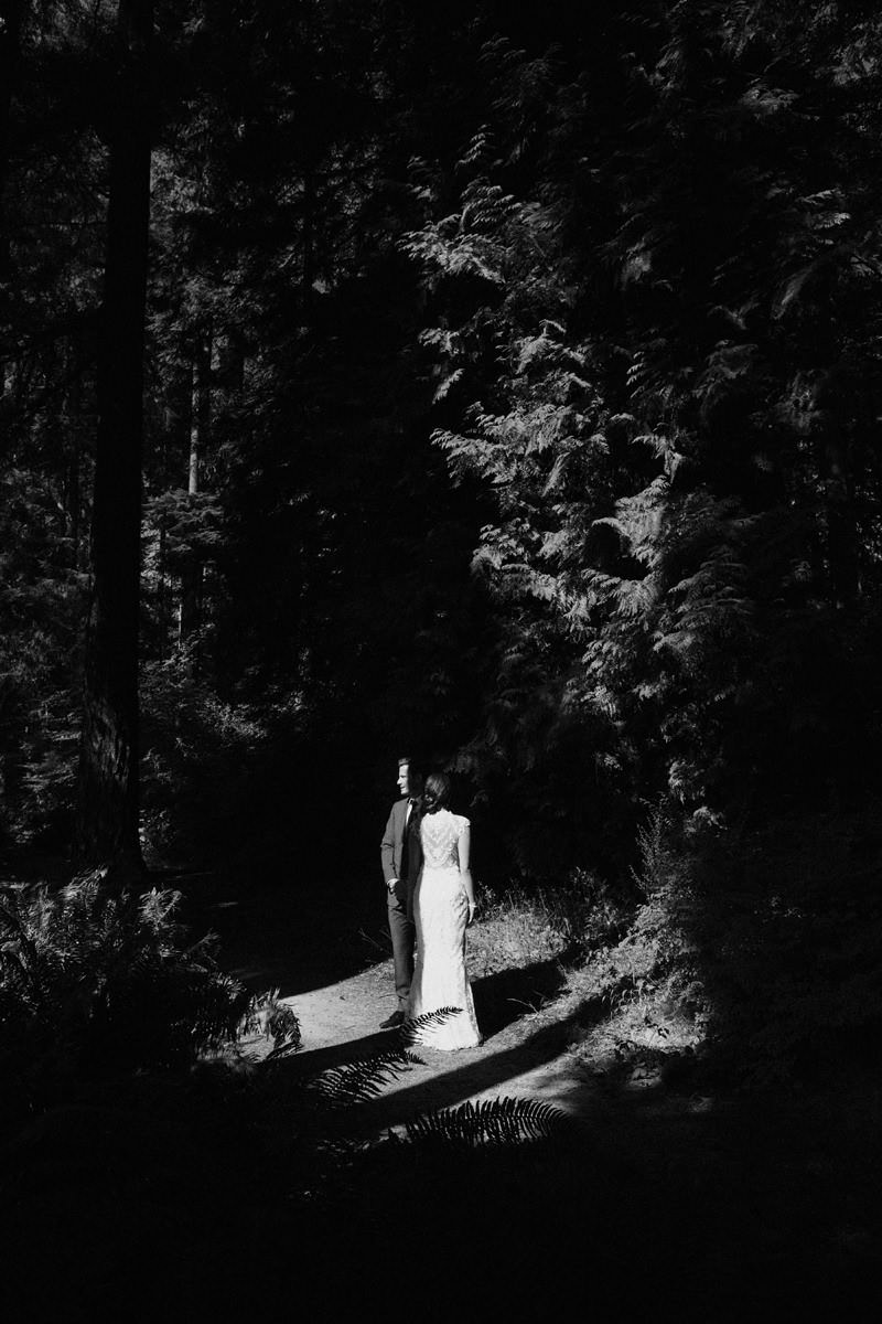 vancouver forest elopement