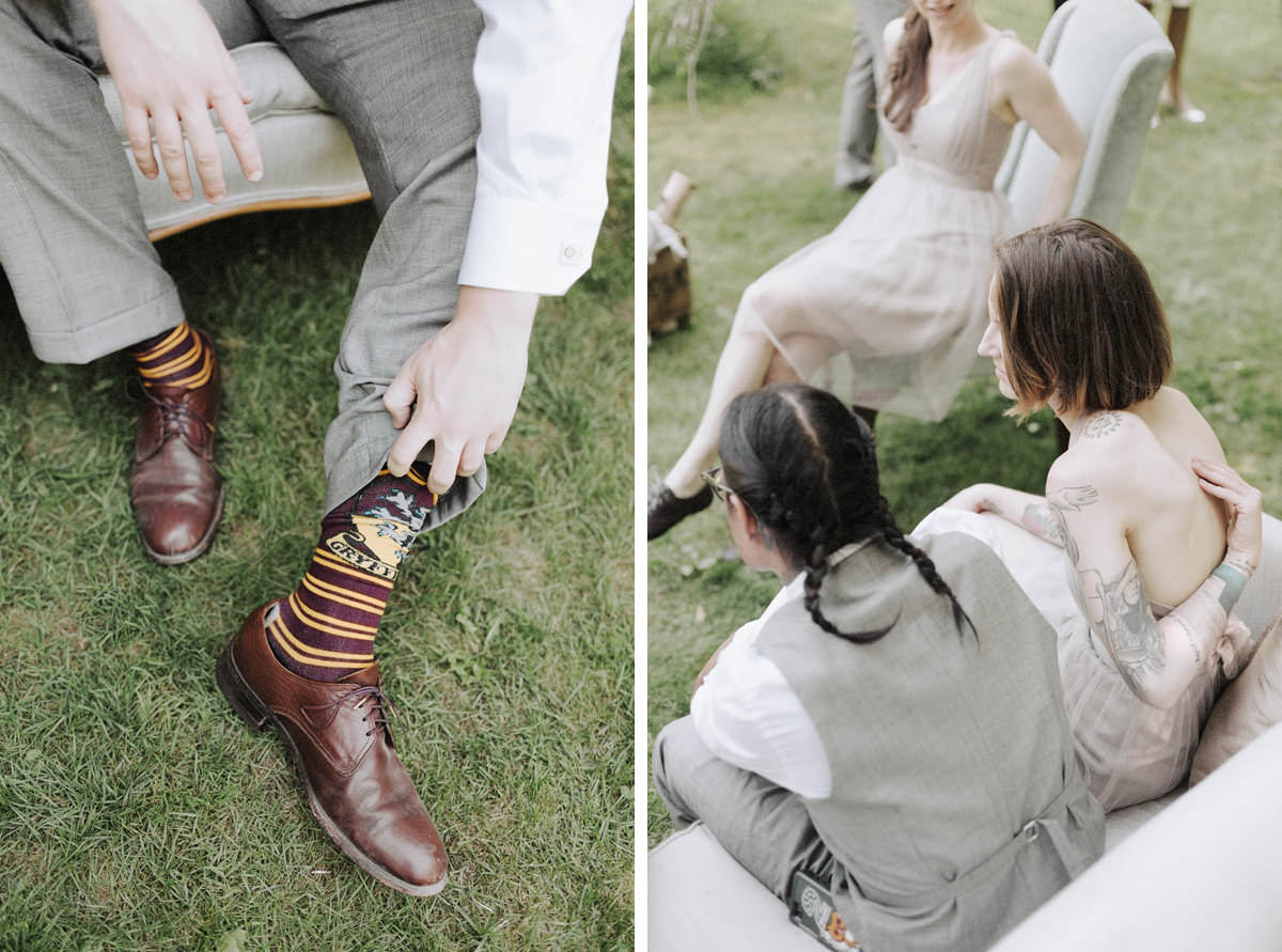 groom harry potter socks