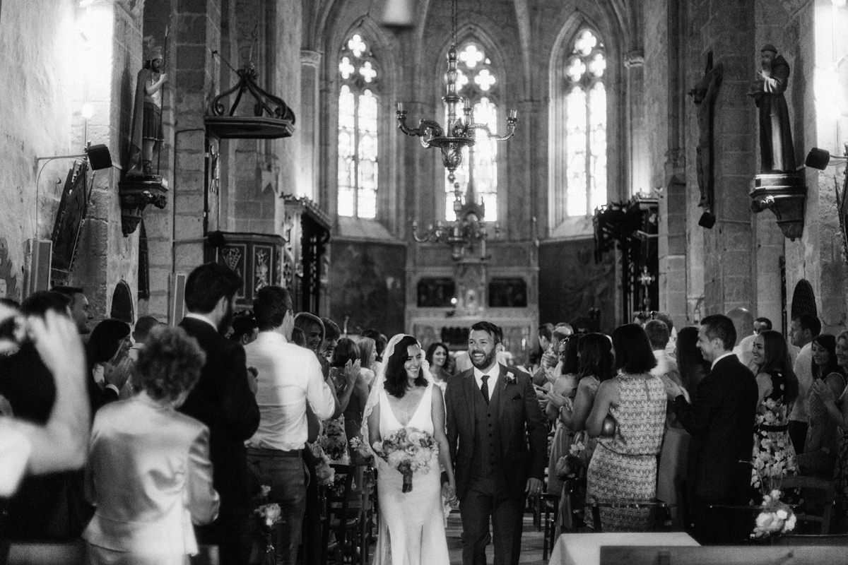 pessan church wedding france