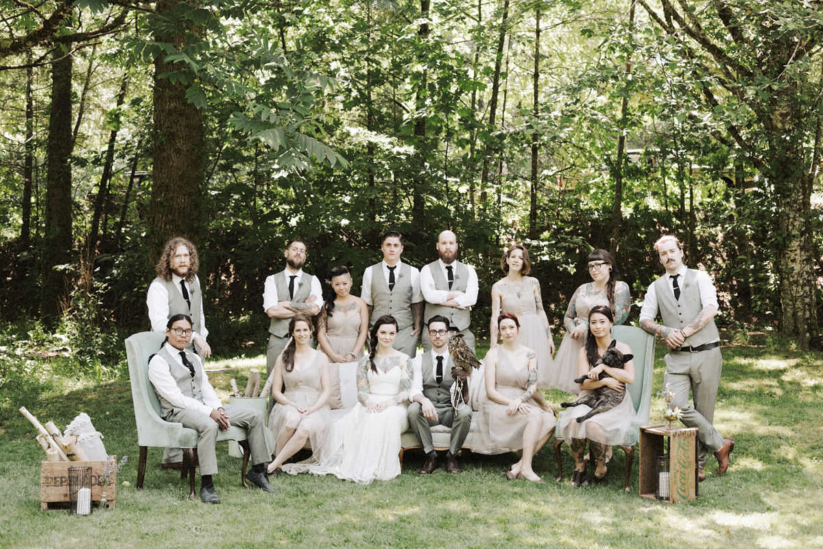 Sunwolf Campground Wedding