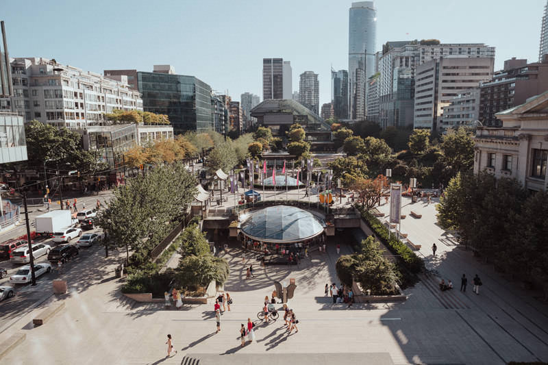 robson square vancouver