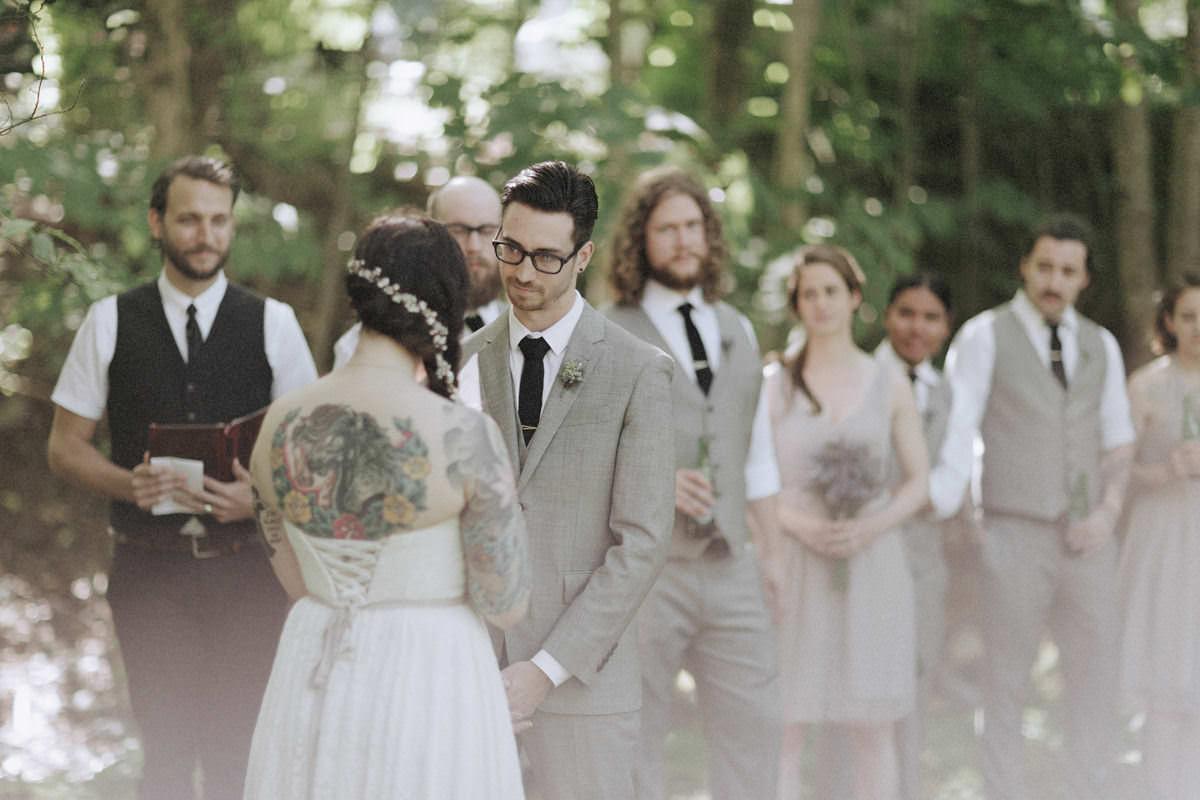forest wedding british columbia