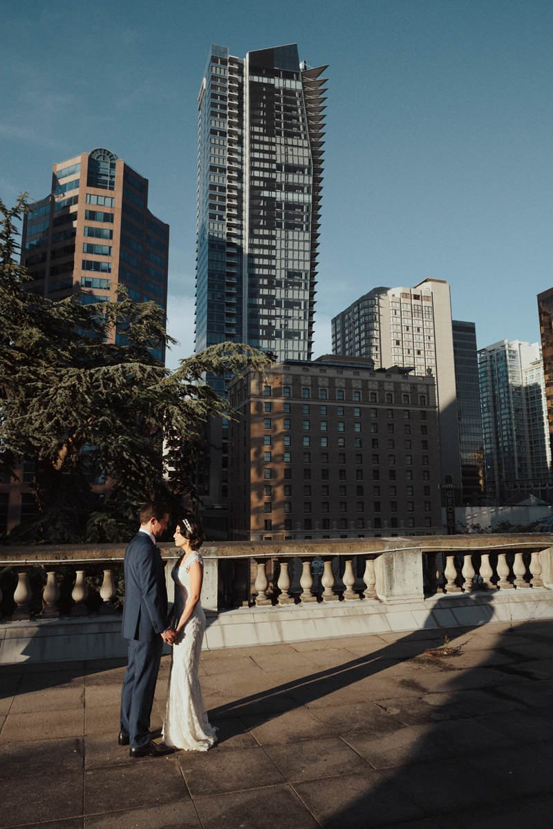 rooftop wedding vancouver