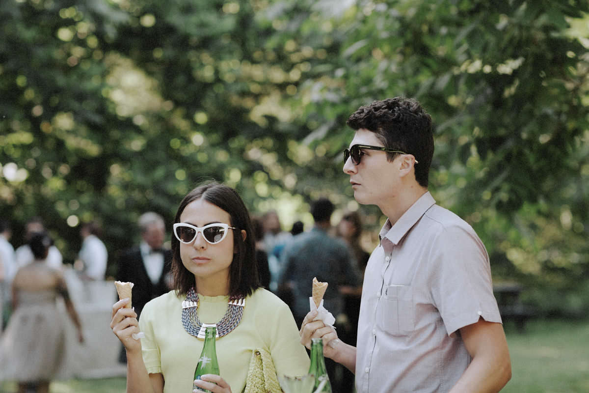 earnest ice cream at weddings