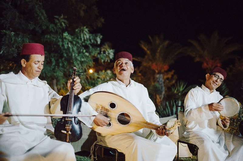moroccan wedding traditional musicians
