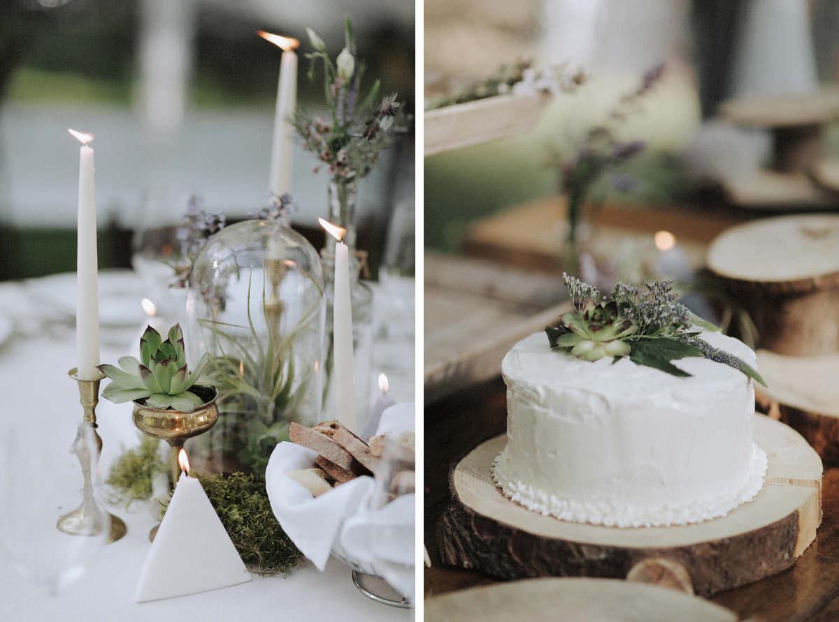 rustic squamish wedding