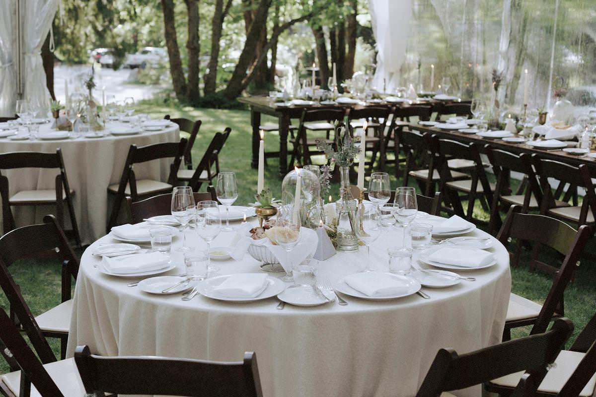 rustic wedding receptions in squamish