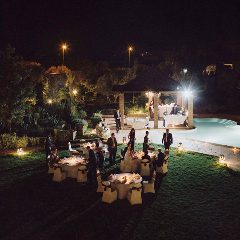 destination morocco wedding reception