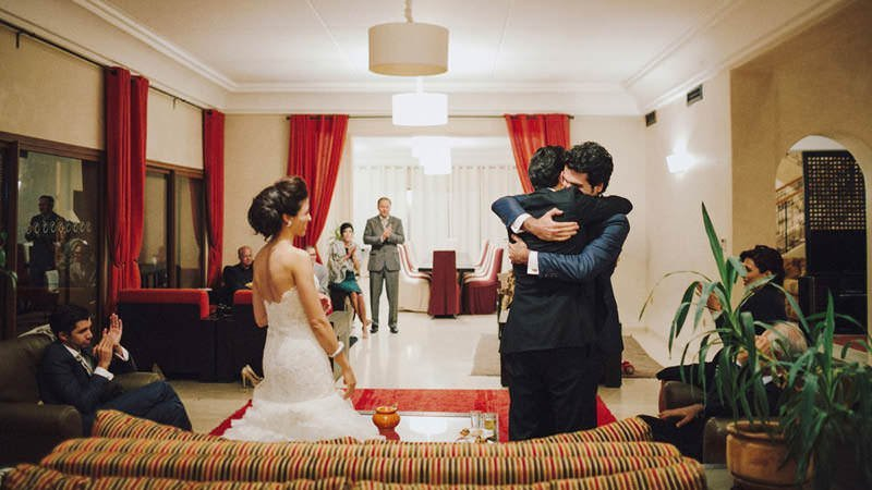 intimate destination morocco wedding