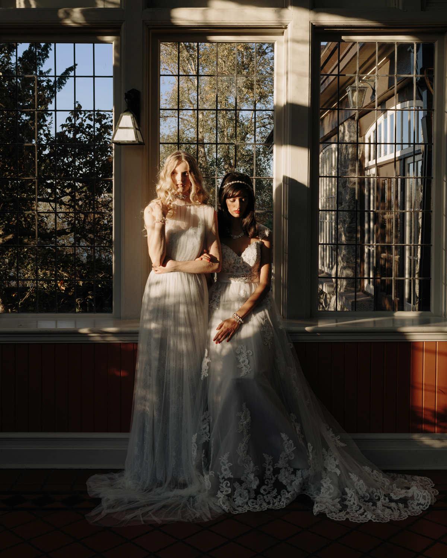 Dark Bridal Editorial