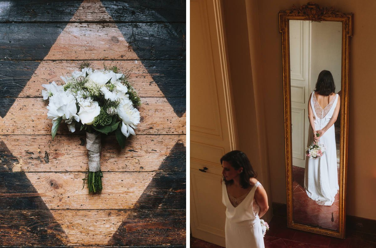 intimate weddings at chateau de lartigolle