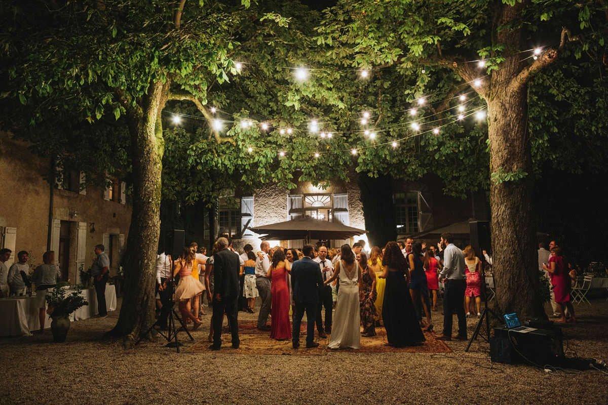 beautiful french chateau weddings