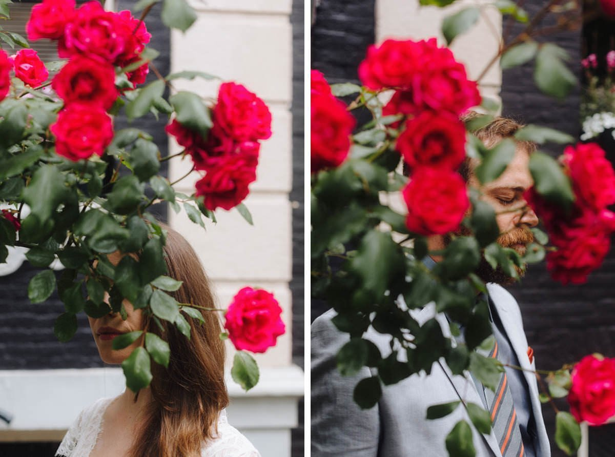 beautiful floral portraits in europe