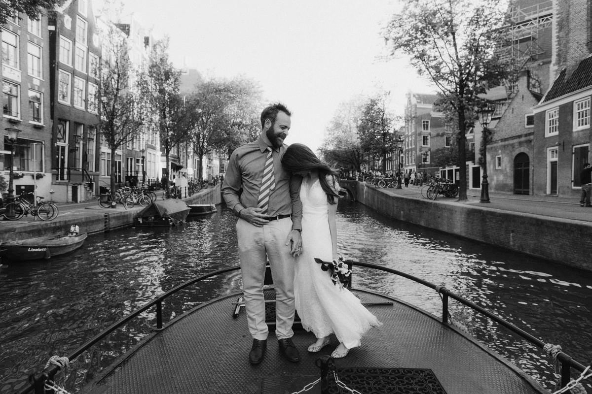 amsterdam canal weddings
