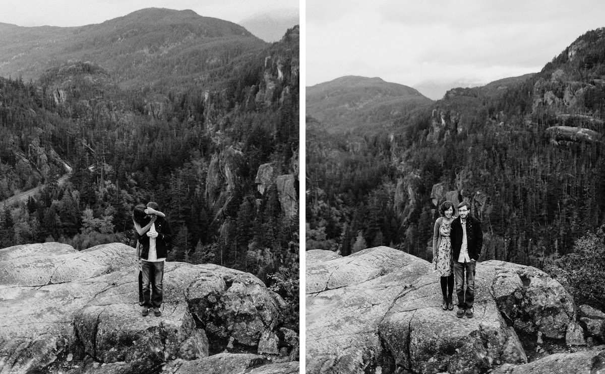 sea to sky mountain portraits