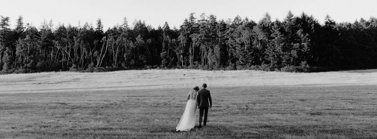 saltspring island backyard wedding