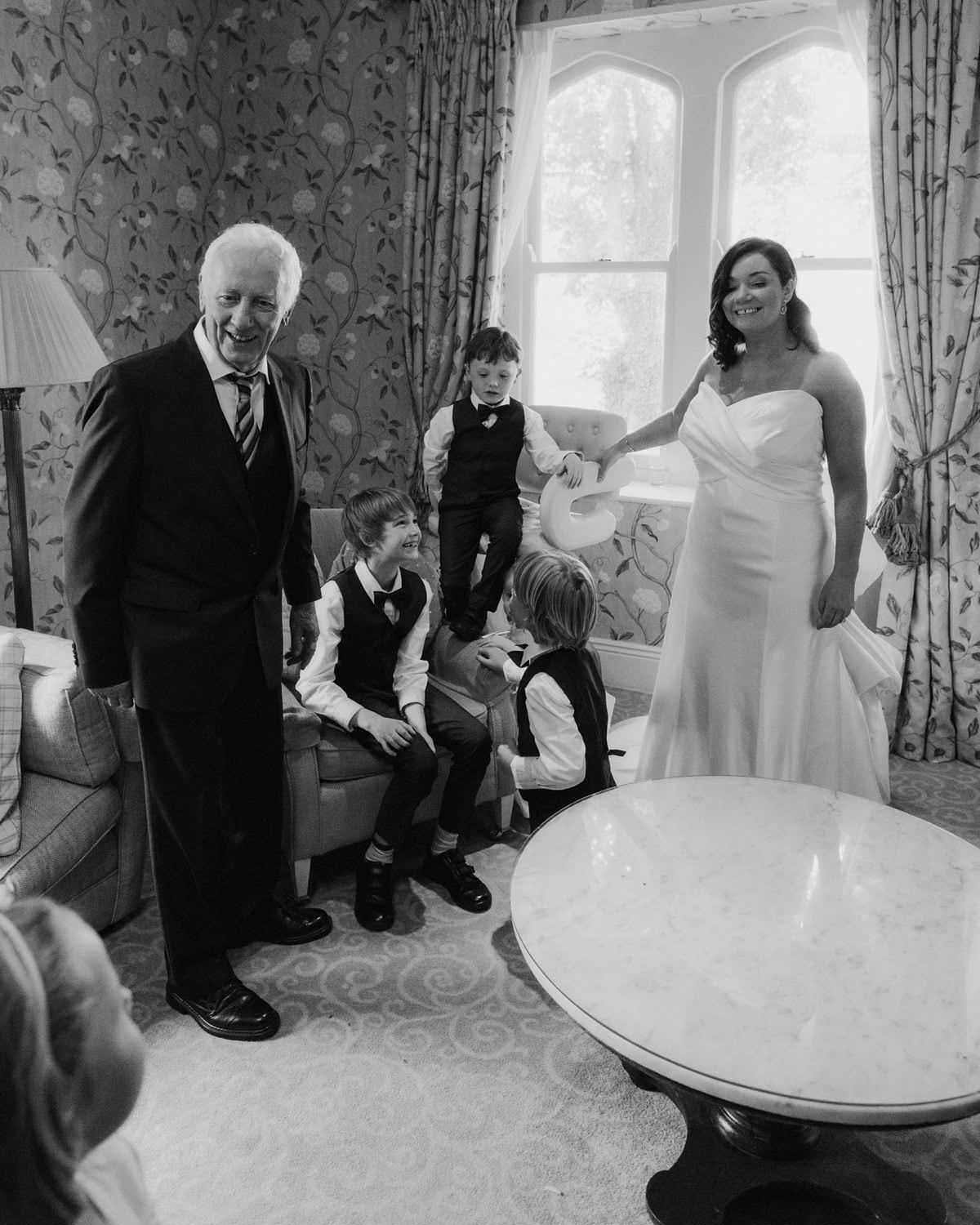 documentary style wedding photographer in northern ireland
