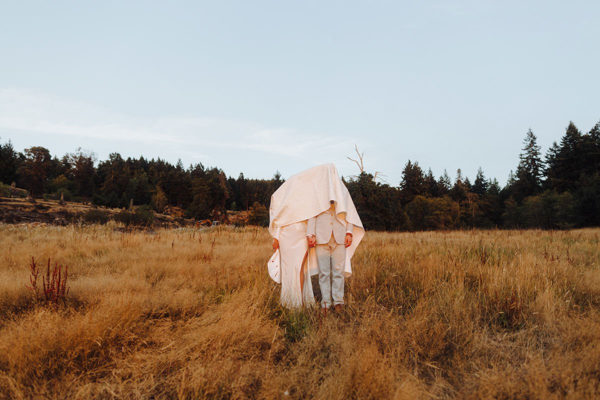 bodega ridge wedding on galiano island