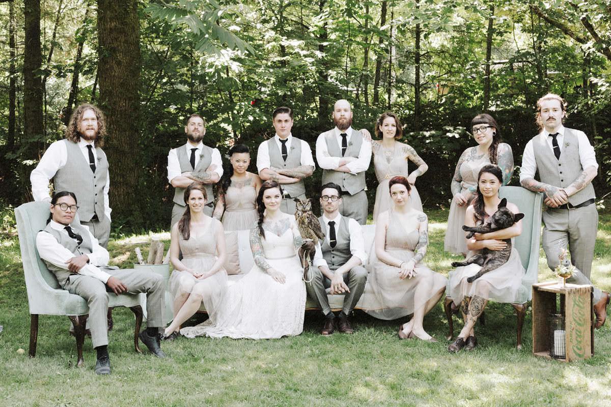weddings at sunwolf campground in squamish