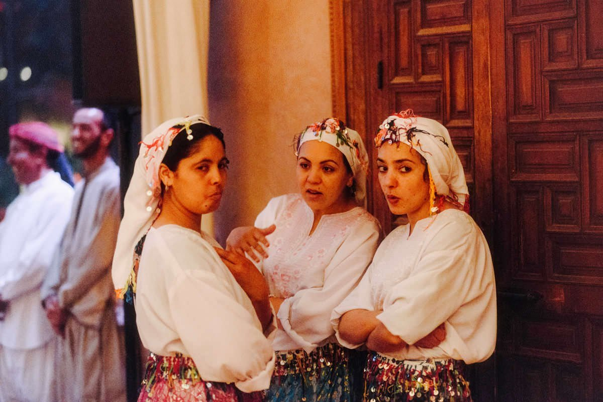 traditional moroccan dancers