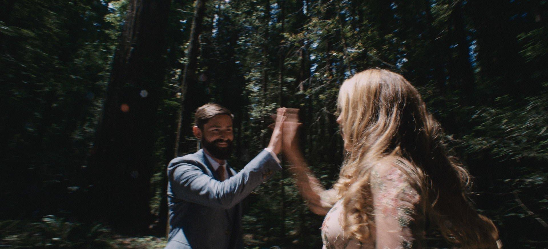 california redwoods wedding video
