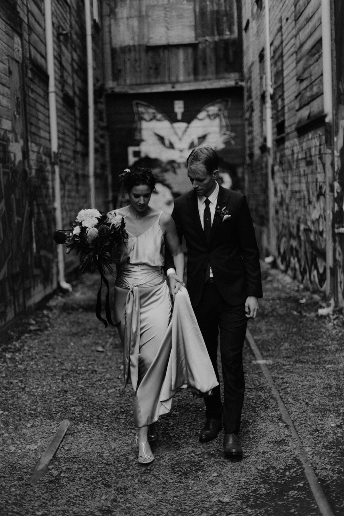 east vancouver industrial wedding